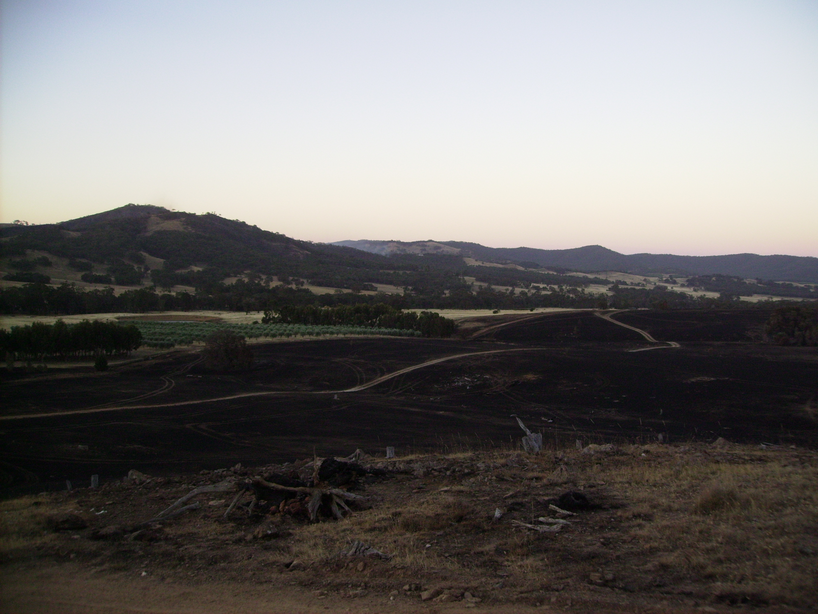 2014 Moonambel Fires Came Frighteningly Close